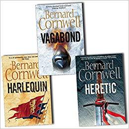 Bernard Cornwell Grail Quest 3 books Pack Set Collection