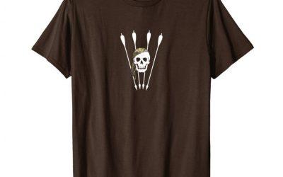 Instinctive Archery pirate with arrows